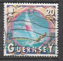 Guernsey 2000 Maritime Motifs 20p Multicolored SW 851 O Used - Guernsey