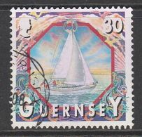 Guernsey 2000 Maritime Motifs 30p Multicolored SW 852 O Used - Guernsey