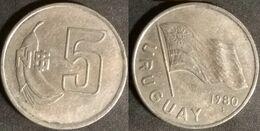 Uruguay - 5 New Pesos 1980 Used (ur002) - Uruguay