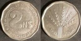 Uruguay - 2 New Pesos 1981 FAO - World Food Day Used (ur004) - Uruguay