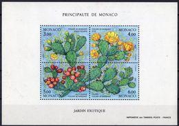 Monaco 1992 Yvertn° Bloc 55 *** MNH Cote 13,25 Euro Flore Cactus - Blocks & Sheetlets