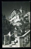 Mallorca Palma Paseo Maritimo Pareja Tipica Frente Al Hotel Miramar Casa Planas 1957 - Mallorca