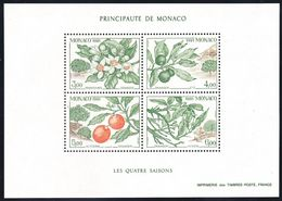 Monaco 1991 Yvertnr. Bloc 54 *** MNH Cote 12,50 € Flore L' Oranger - Blocks & Sheetlets
