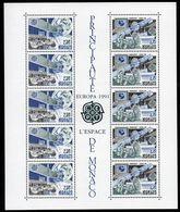 Monaco CEPT 1991 Yvertn° Bloc 52 *** MNH Cote 29 € L' Espace Europa - Blocks & Sheetlets