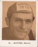 Baanrenners Verzamelkaartje Marcel Buysse - Wielrennen