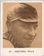 Baanrenners Verzamelkaartje Ward Peeters - Wielrennen
