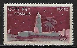 COTE  DES  SOMALIS    -  1947 .   Y&T N° 282 *.    Mosquée - Nuovi
