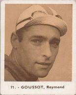 Baanrenners Verzamelkaartje Raymond Goussot - Wielrennen