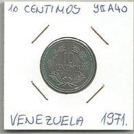 C11 Venezuela 10 Centimos 1971. Y#A40 - Venezuela