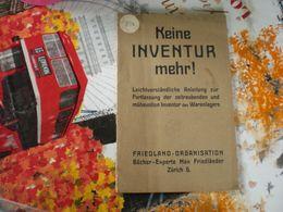 Keine Inventur Mehr Leichtverstandliche Anleitung Zur Fortlassung Der Zeitraubenden Und Muhevollen Inventur Des Warenlag - Livres, BD, Revues