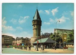 Deutschland - AK - Frankfurt - Bockenheimer-Warte / MWSt: Fahrrad- U. Motorad-Ausstellung 1962 - Frankfurt A. Main