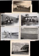 Photos Avions Ju 52 Toucan  France  Hs 126 Luftwaffe 1940 + Après Guerre 1945 - 1939-45