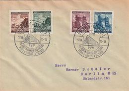 Boehmen Und Maehren / 1941 / Mi. 75-78 Auf Brief SSt. Nr. 75a (BS32) - Cartas