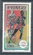 Congo YT N°962D Jeux Olympiques De Barcelone 1992 Course Oblitéré ° - Congo - Brazzaville
