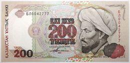 Kazakhstan - 200 Tenge - 1993 - PICK 14a.2 - NEUF - Kazakhstan