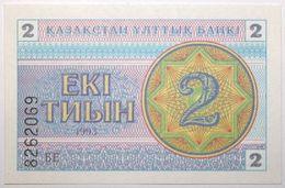 Kazakhstan - 2 Tyin - 1993 - PICK 2c - NEUF - Kazakhstan