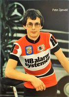Postcard Peter Zijerveld - HB Alarmsystemen-Gios -  1981 - Cycling