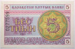 Kazakhstan - 5 Tyin - 1993 - PICK 3b - NEUF - Kazakhstan
