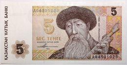 Kazakhstan - 5 Tenge - 1993 - PICK 9a - NEUF - Kazakhstán