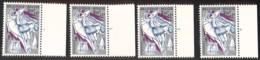 [160362]TB//**/Mnh-Belgique 1959 - N° 1117-pl1/4, Blancs Moussis De Stavelot, 2f50, Avec Pl1 Et 2 Grand Bdf Et Pl3 Avec - ....-1960