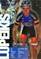 Postcard Remigijus Lupeikis - US Postal -  1997 - Cycling