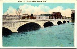 Iowa Cedar Rapids First Avenue Bridge - Cedar Rapids