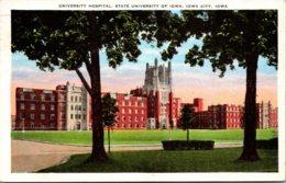 Iowa Iowa City University Hospital State University Of Iowa 1935 - Iowa City