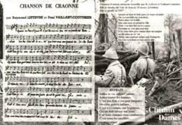 Militaria - CPM Chanson De Craonne - Le Chemin Des Dames - Guerre 1914-18