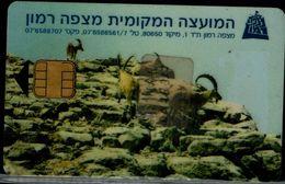 ISRAEL 1998 PRIVATE PHONECARD O.R.T. TEH IMI TELECOM MITSPE RAMON MINT VF!! - Israel