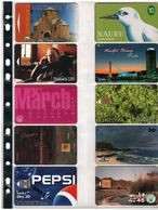 Nuevo : -  10 DIFFERENT TELECARTES FOR COLLECTION AT OFFER PRICE - Nauru