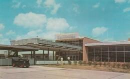 Dannelly Field Montgomery Alabama Airport Terminal Building C1960s Vintage Postcard - Aerodromi