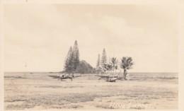 Hana Airport Maui Hawaii, 2 Propeller Planes, C1940s Vintage Real Photo Postcard - Aerodromes