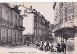 CPA   Plombières Les Bains (88) Bain Stanislas  Paysannes Attelage De Vaches        Ed Duroch 41 - Plombieres Les Bains