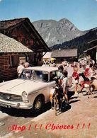 Voitures Peugeot 404 Chèvres Les Lindarets Montriond Morzine - Turismo