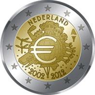 10 Ans De L'Euro Netherlands2012 - Pays-Bas