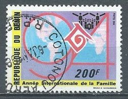 Bénin YT N°708-22 Année Internationale De La Famille Oblitéré ° - Benin – Dahomey (1960-...)
