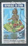 Bénin YT N°702 Conférence Internationale Sur La Nutrition Oblitéré ° - Benin – Dahomey (1960-...)