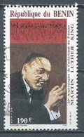 Bénin YT N°708 Martin Luther King Oblitéré ° - Benin – Dahomey (1960-...)