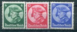 Deutsches Reich - Michel 479-481 Ungber.*/MH - Germania