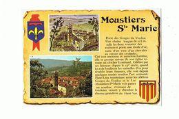 04 - MOUSTIERS SAINTE MARIE - Multivues - 74 - Other Municipalities