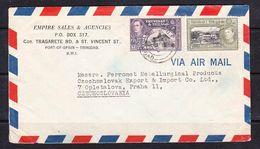 EX-PR-SC 21-30 AVIA LETTER FROM TRINIDAD & TOBAGO TO CZECHOSLOVAKIA - Trinidad & Tobago (...-1961)