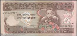 TWN - ETHIOPIA 48g - 10 Birr 2017 Prefix DQ UNC - Etiopia