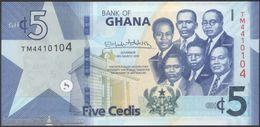 TWN - GHANA NEW - 5 Cedis 4.3.2019 Prefix TM UNC - Ghana