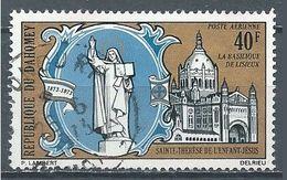 Dahomey Poste Aérienne YT N°183 Sainte-Thérèse De L'Enfant Jésus Oblitéré ° - Benin – Dahomey (1960-...)