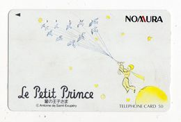 JAPON TELECARTE Le Petit Prince Saint Exupéry - BD