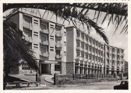 SCIACCA-AGRIGENTO-HOTEL=DELLE TERME=-CARTOLINA VERA FOTO VIAGGIATA IL 2-11-1960 - Agrigento