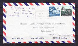 EX-PR-SC 21-36 AVIA LETTER FROM TRINIDAD & TOBAGO TO CZECHOSLOVAKIA - Trinidad & Tobago (...-1961)