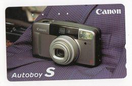 TELECARTE JAPON CANON Appareil Photo Autoboy S - Télécartes