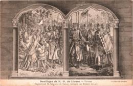 CPA 02 (Aisne) Notre-Dame-de-Liesse - Basilique, Vitraux : Enguerrand II De Coucy Retrouve Ses Enfan, TBE édit. Bienaimé - Autres Communes