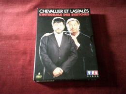 Chevalier Et Laspales  4  DVD  L'INTEGRALE DES SKETCHES - Concert Et Musique